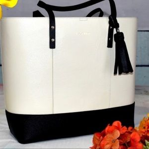 Cole Haan Large Leather Tote New With Tags Big!!